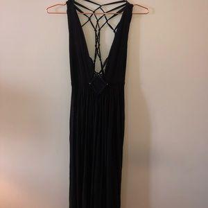 Beautiful maxi dress, strappy/open back